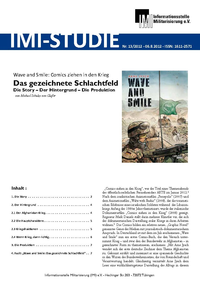 Wave and Smile: Comics ziehen in den Krieg