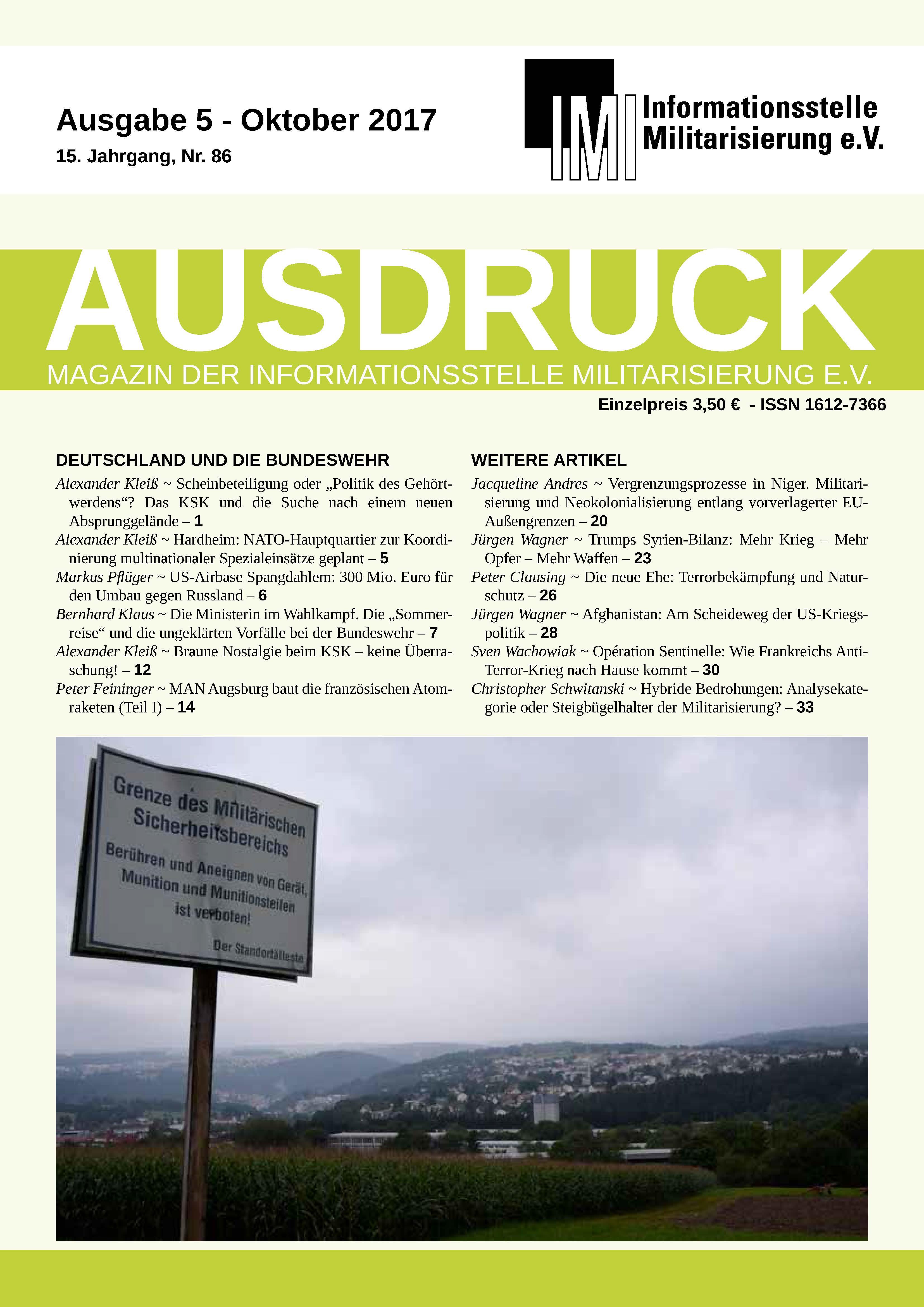 Ausgabe 6 - Dezember 2017